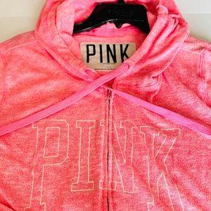 Victoria's Secret Full Zip Up Hoodie Jacket